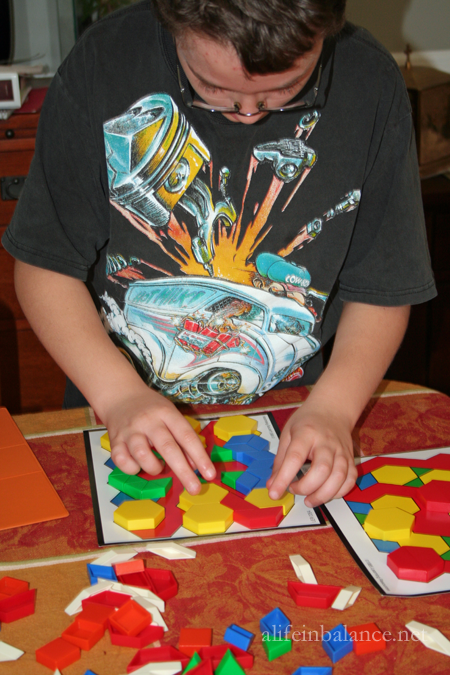 Pattern Blocks: Math and Reading Skills