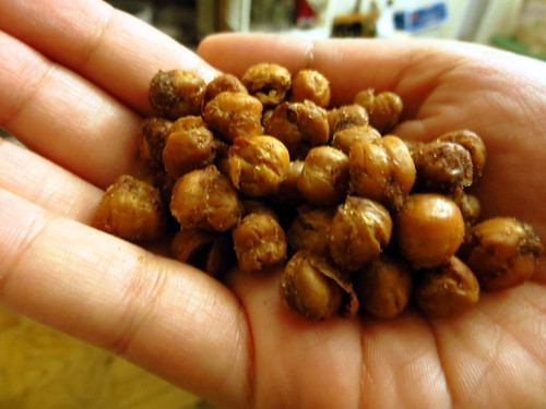 Crunchier Roasted Chickpeas!