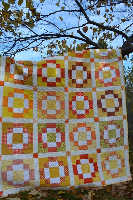 Bee quilt 1