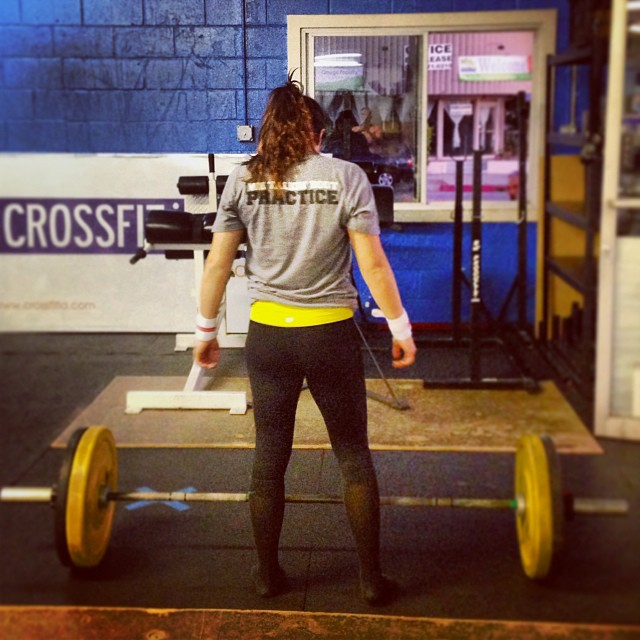 #Diane. #WeTalkinBoutPractice #deadlifts #crossfit #womenofcrossfit #crossfitgirls