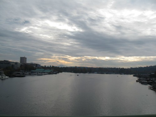 Commute 2013: Looking east from the University Bridge