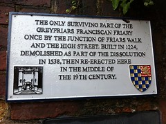 Photo of Grey plaque number 28251