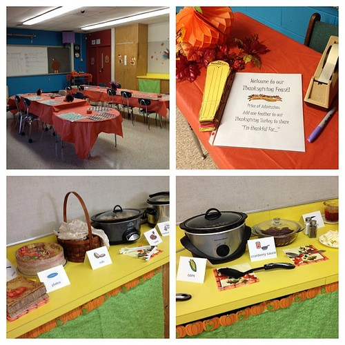 Feast time! #teaching #classroomthanksgiving #family