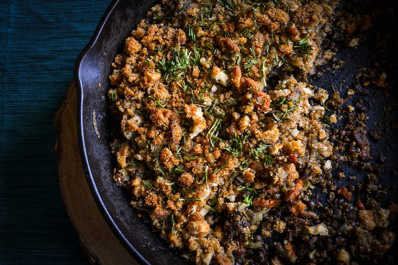 sausage and lentil cassoulet - Things I Made Today