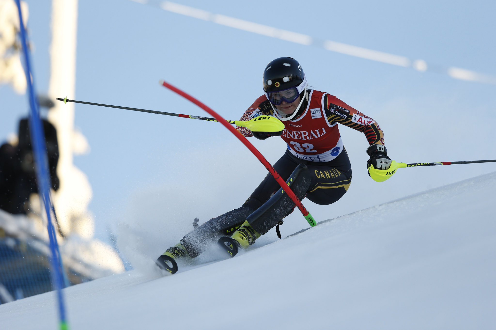 Elli Terwiel finesses her way to an 11th place finish in Levi, FIN.
