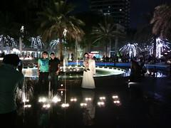Marina walk fountain