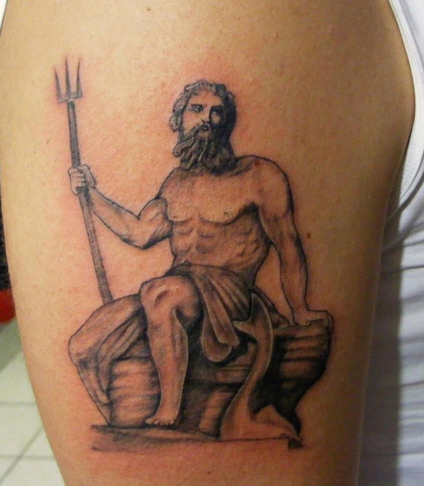 Poseidon Tattoo Angel Tattoo Piercing Studio Avcilar Istan
