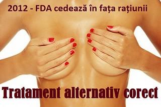 Tratament alternativ corect pentru cancer - FDA cedeaza in fata ratiunii