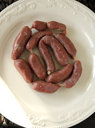 Homemade Linked Sausages Using KitchenAid's Sausage Stuffer