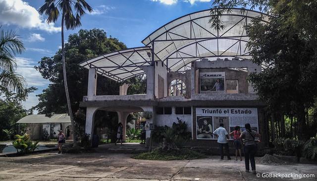 Entrance to Pablo Escobar's old home