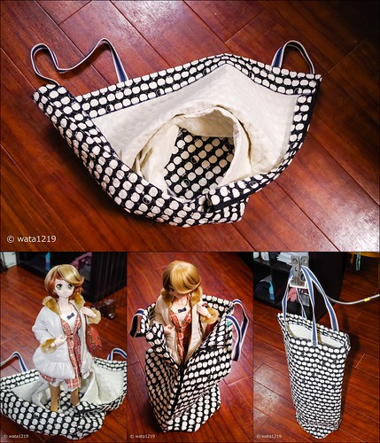Doll tote bag (for DD)