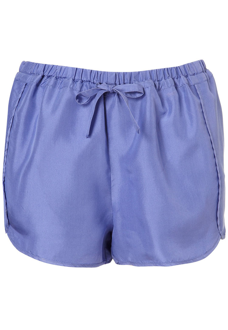 Topshop Silk Running Shorts
