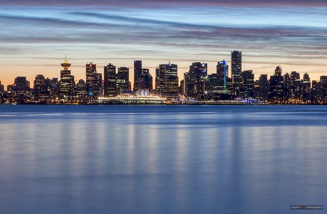 Vancouver's Winter Skyline