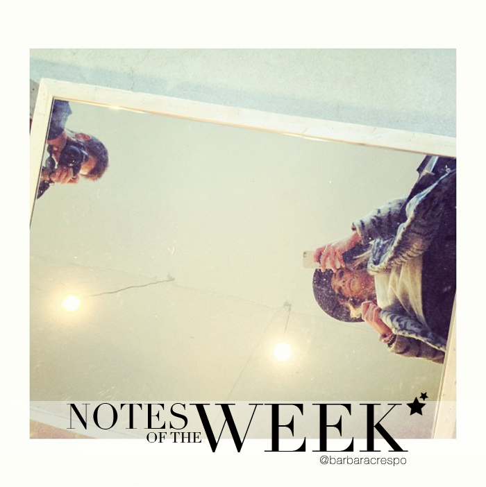 notes of the week barbara crespo tumblr social media instagram youtube instavideo travels