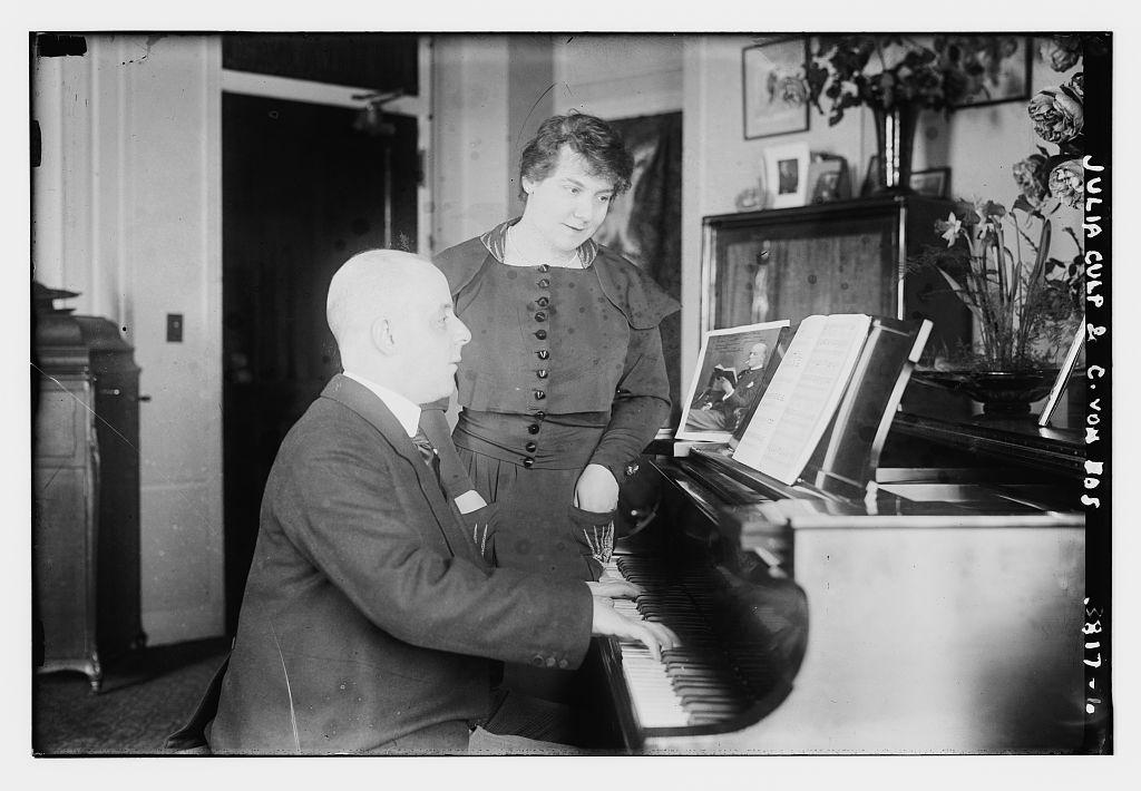 Julia Culp & C. Von Dos (?) (LOC)