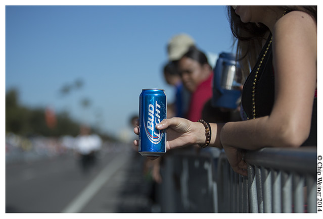 While the open container laws can be confusing, and enforcement there was a lot of libations along the parade route