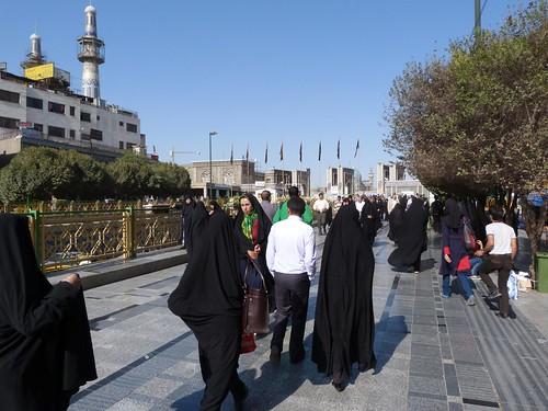 Caminando por Mashhad