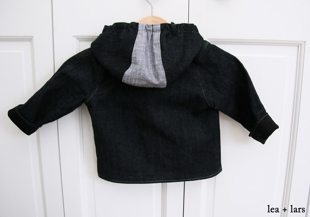 back of baby jacket