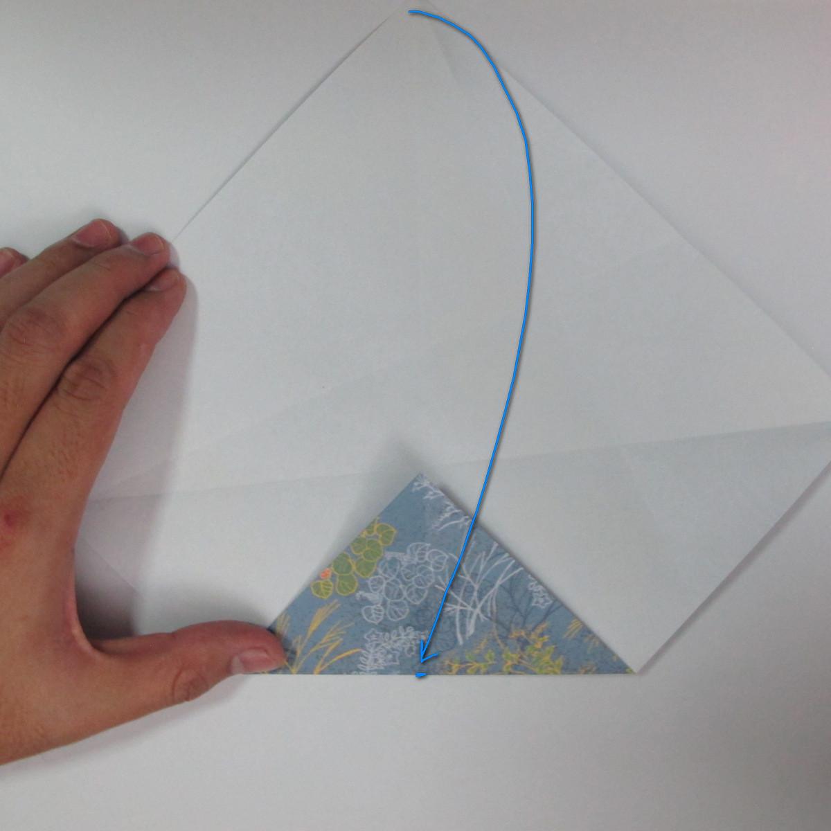 วิธีการพับกระดาษเป็นรูปม้า (Origami Horse) 010