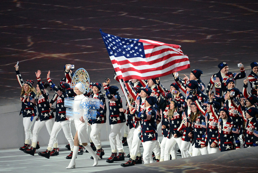 Sochi Olympics USA Team