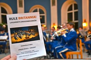 Rule Britannia - Livgardets Drahonmusikkår i Åsenhöga