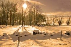 Fresh Snow at Sunrise