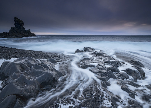 longexposure sea seascape storm beach water landscape coast iceland energy day waves shoreline snaefellsnes dritvik