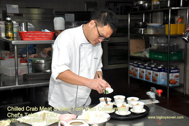 Chef's Table with Chef Sam Leong at TAO Intercontinental Kuala Lumpur 3