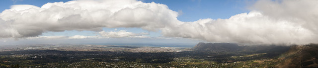 Panorama of the Southern Suburbs