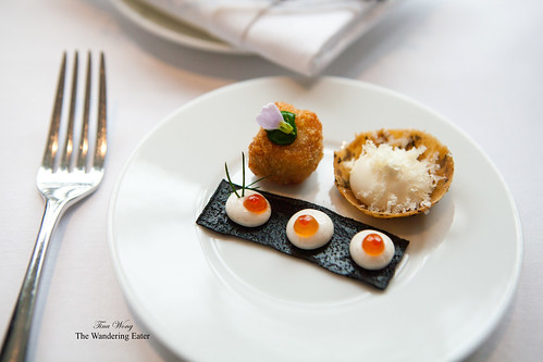 My plate of amuse bouches