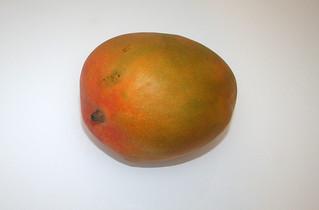 01 - Zutat Mango / Ingredient mango