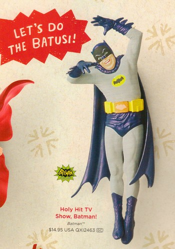 Hallmark Crazy Batman 2014