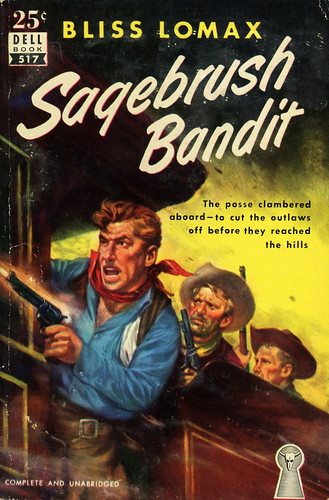 Dell Books 517 - Bliss Lomax - Sagebrush Bandit