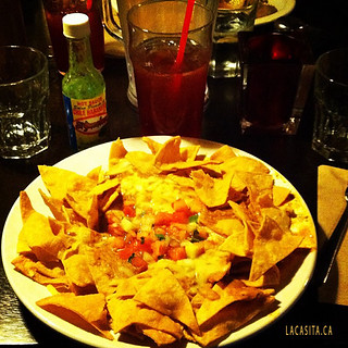 Texas nachos and Jamaica... Yummy! Vancouver BC
