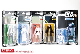 【台灣開賣!】孩之寶 - 黑標6吋人物系列《星際大戰》40週年紀念版 Star Wars 40th Anniversary Black Series Action Figure