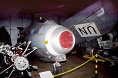 Saab J-29F Tunnan 29657 Silver Hill 1-2-01