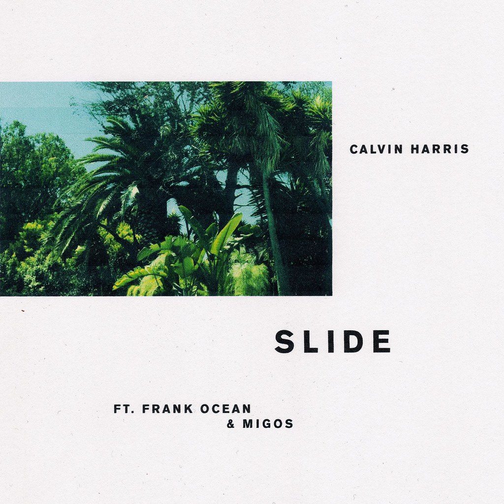 Calvin Harris - Slide - capa single
