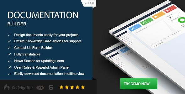 Documentation Builder v1.1.0