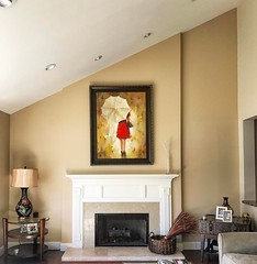New ##decor #project in #AgouraHills! #TenneysonDecor exited!!  #fireplace area #before. Stay tuned 😁