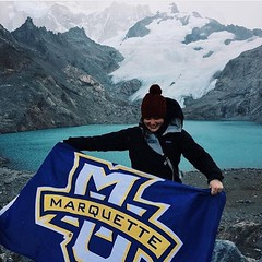 We Are @marquetteglobal in Patagonia! #WeAreMarquette :camera: @bmount16