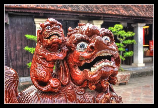 Hanoi VN - Văn Miếu - Quốc Tử Giám Temple of Literature 10