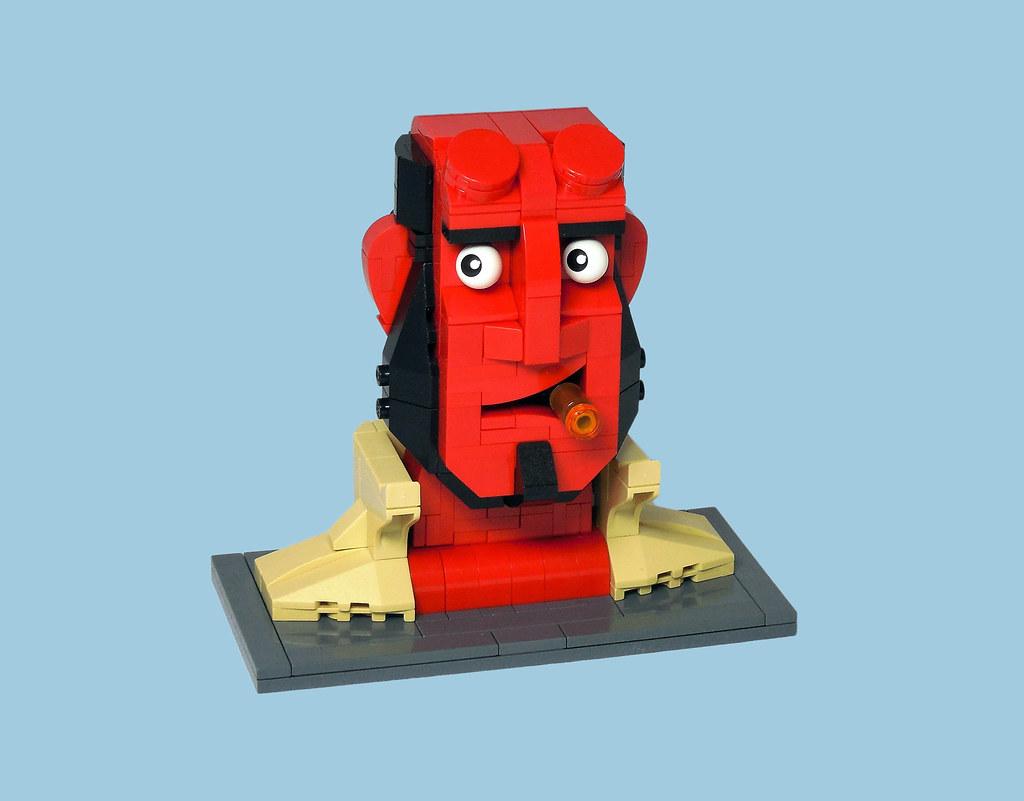 Hellboy (custom built Lego model)