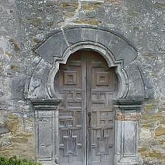1690 Door way at Mission Espada 1731