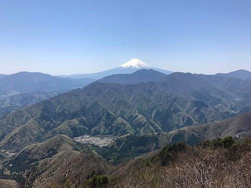 秀麗富嶽十二景3つめ。