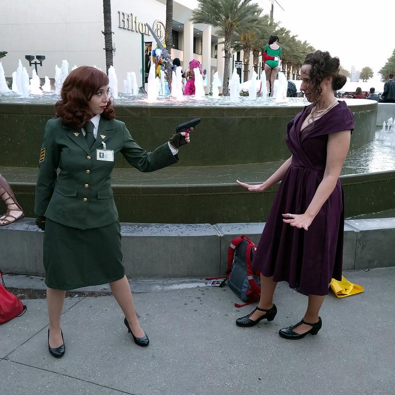 Agent Carter vs Whitney Frost