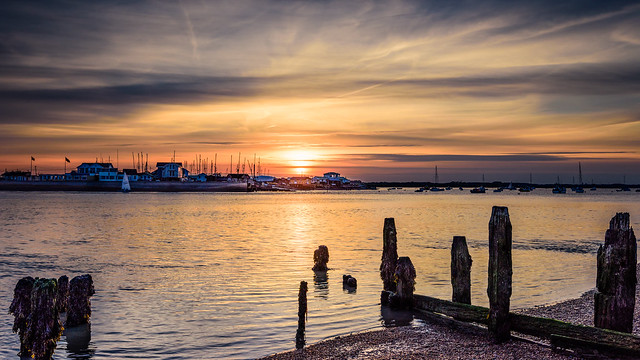 Felixstowe Ferry Sunset