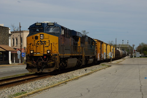 CSX Q619 AT BREWTON, AL