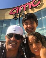Smurf's lost village with my grandchildren Reid , JoJo and Kye . #sonsofcavalcantidallas #iamcavalcanti #iambusybeingstrong #ilovemygrandkids