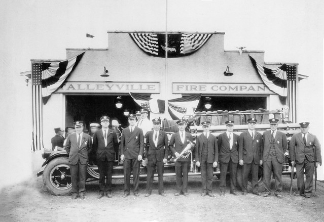 Talleyville Fire Company, Delaware - October 12, 1929 Housing of first Engine