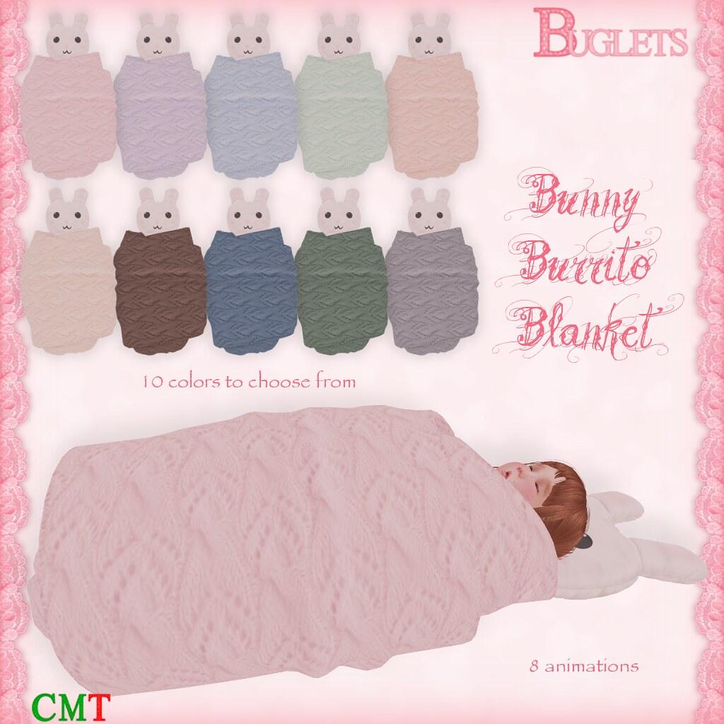 Bunny Burrito Blanket AD - SecondLifeHub.com